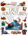 The cover of The Illustrated Book of Great Adventurers