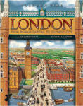 The cover of London Through Time