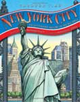 The cover of New York Through Time